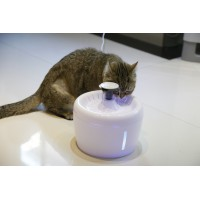 Поилка - фонтан для кошек и собак ELS-PET  2,5л Белая