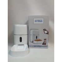 Годівниця для кішок і собак автоматична CHINAPST FD-BL3, 6л. WiFi, Біла