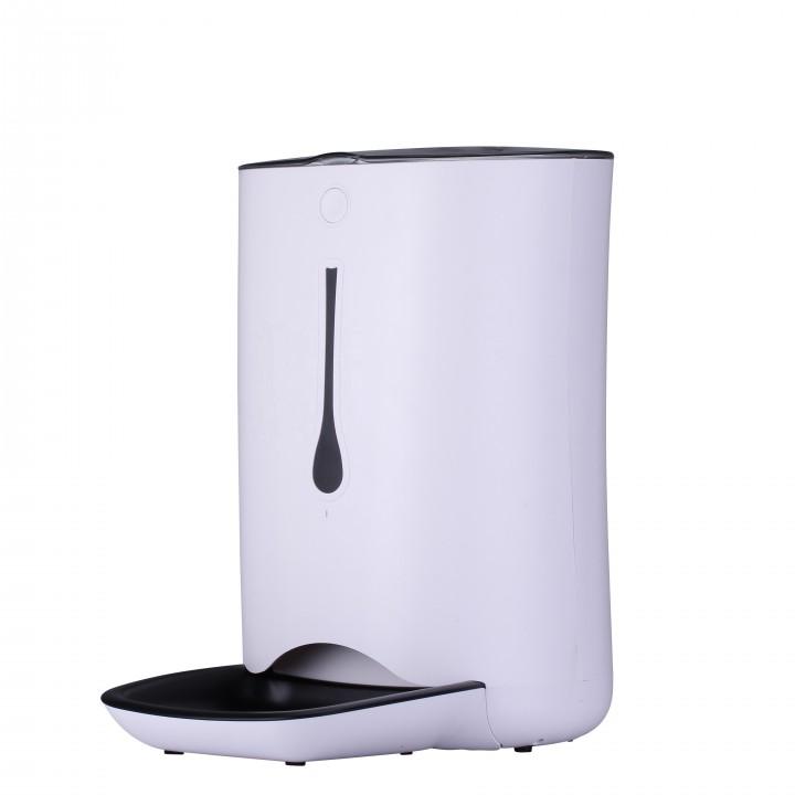 Автоматическая кормушка для кошек и собак Taipets A36,  6,6л.  Белая