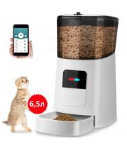 Годівниця для кішок і собак автоматична YXPET YX-05 Feeder, 6,5л. WiFi, Біла