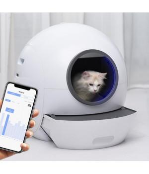 Автоматичний туалет для кішок Els-Pet E801, WiFi, УФ-стерилізація.