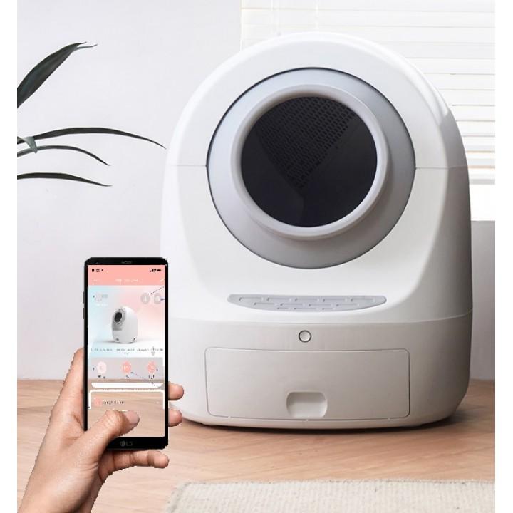 Автоматический туалет для кошек PET MEET 2, WiFi, УФ-стерилизация