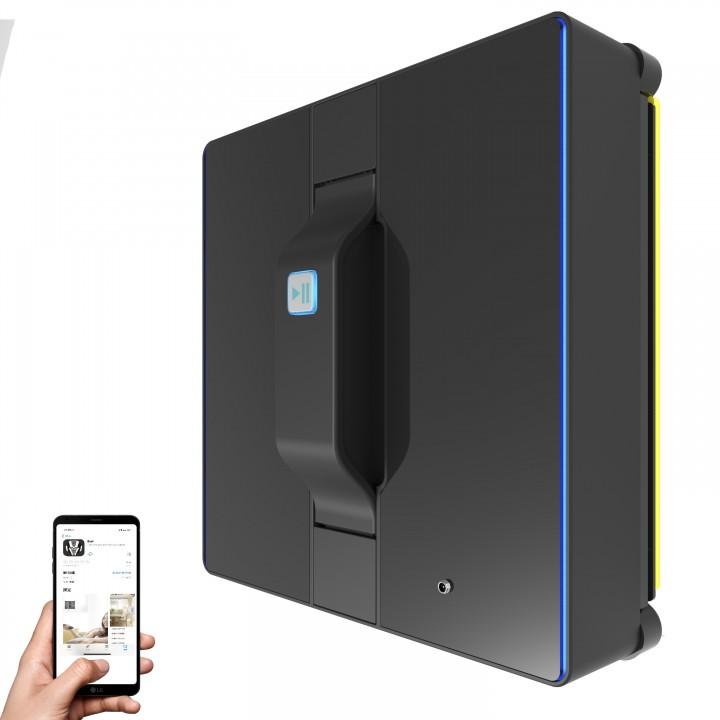 Купить Робот мойщик окон Liectroux  WS-1080 Черный, мобильное приложение, работа через Bluetooth 4.