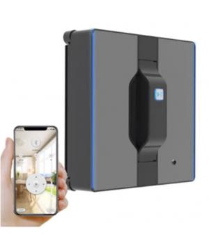 Робот для миття вікон Liectroux WS-1080 Чорний, Bluetooth. Гарантія 1 рік від виробника.