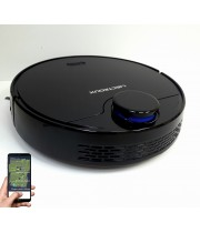 Лазерный робот пылесос Liectroux ZK901 Черный.Немецкий бренд. Оригинал.Модель 2020 года. Гарантия 1 год от производителя