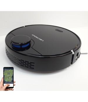 """Лазерный робот пылесос Liectroux ZK901 Черный.Оригинал.Модель 2020 года. Гарантия 12 месяцев от сервис центра """"Liectroux"""" Украина."""