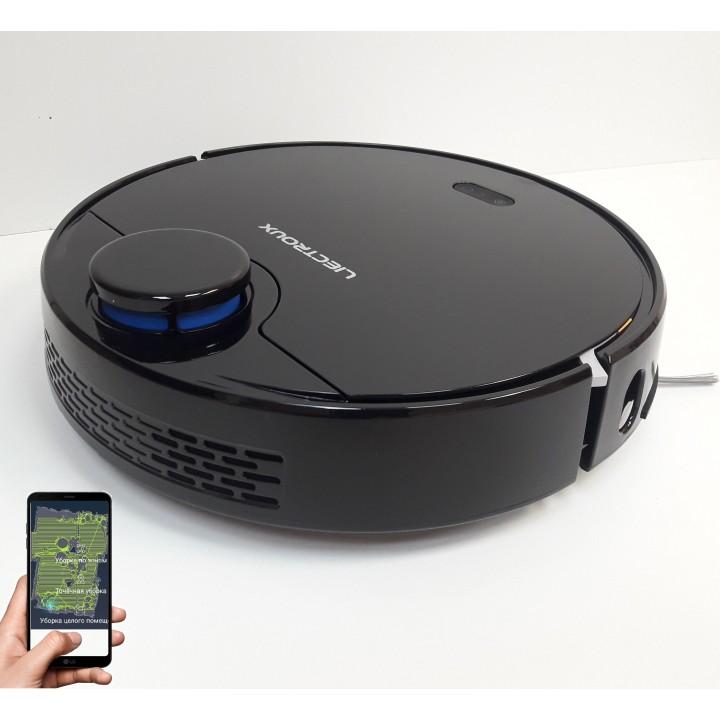 """Лазерный робот пылесос Liectroux ZK901 WIFI  Черный.Немецкий бренд. Оригинальная версия.Модель 2021 года. Гарантия 12 месяцев от сервис центра """"Liectroux"""" Украина."""